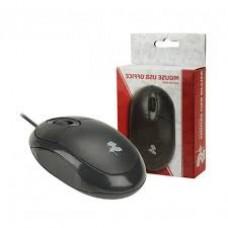 Mouse Ótico 5+ USB Office Preto 1000DPI - PN # 015-0043