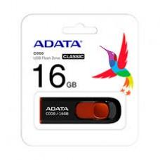 Pen Drive A-Data C008 16GB Preto - AC008-16G-RKD