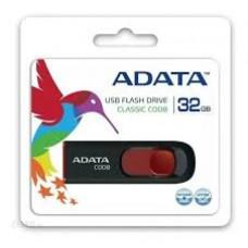 Pen Drive A-Data C008 32GB Preto - AC008-32G-RKD