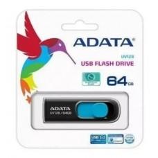 Pen Drive A-data Uv128 64gb Azul - Auv128-64g-rbe