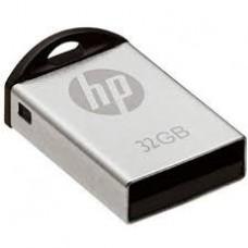 Pen Drive HP MINI V222W 32GB USB 2.0 Prata - HPFD222W-32