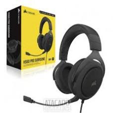 Headset Corsair HS60 PRO Gaming virtual 7.1 surround Carbon - CA-9011213-NA