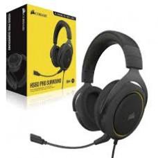 Headset Corsair HS60 PRO Gaming virtual 7.1 surround Yellow - CA-9011214-NA
