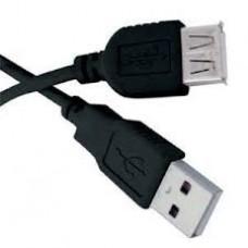 CABO EXTENSOR USB 2.0 AM / AF 3 METROS CBU009