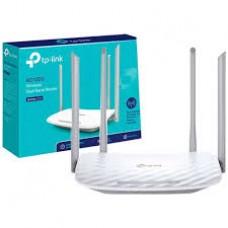 Roteador Tplink Wi-Fi Archer C50 D.Band AC1200 4P 4 Antenas - Archer C50