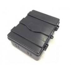 Caixa Hermetica Preta Mini Estriada N 06