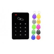 Controle De Acesso Rfid Com 10 Tags Multicoloridas 125 Khz