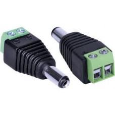 Conector Adaptador P4 Macho Com 50 Unidades