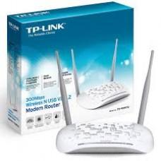Modem Roteador Wireless Wifi Vdsl2 300mbps Tp Link Td-w9970
