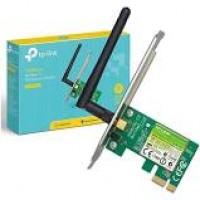 Placa de Rede Tplink PCI Express Wless 150Mbps TL-WN781ND 1 Ant Dest.