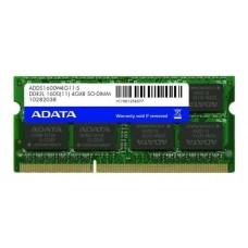 Memória Note A-Data 4GB 1600MHz DDR3L CL11 SODIM - ADDS1600W4G11-S