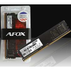 Memória Afox 16GB DDR4 2400Mhz DIMM CL17 - AFLD416ES1P