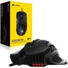 Mouse Corsair GLAIVE RGB PRO Black USB Optical 100-18000 DPI - CH-9302211-NA