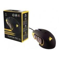 Mouse Corsair SCIMITAR Yellow PRO RGB USB Opt 1 - 16000 DPI - CH-9304011-NA