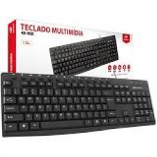 Teclado C3TECH USB PADRAO KB-12BK PRETO - 403010300100