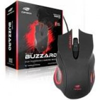 Mouse C3TECH GAMER USB BUZZARD MG-110BK PRETO - 402060550200