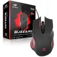 Mouse C3TECH GAMER USB BUZZARD MG-110BK PRETO - 402060550200
