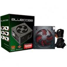 Fonte Bluecase 500W BLU 500 PFC c/CABO c/CAIXA - BLU500GPCASE